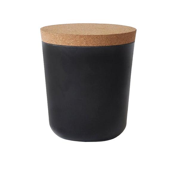 Ekobo Claro storage jar, L, black