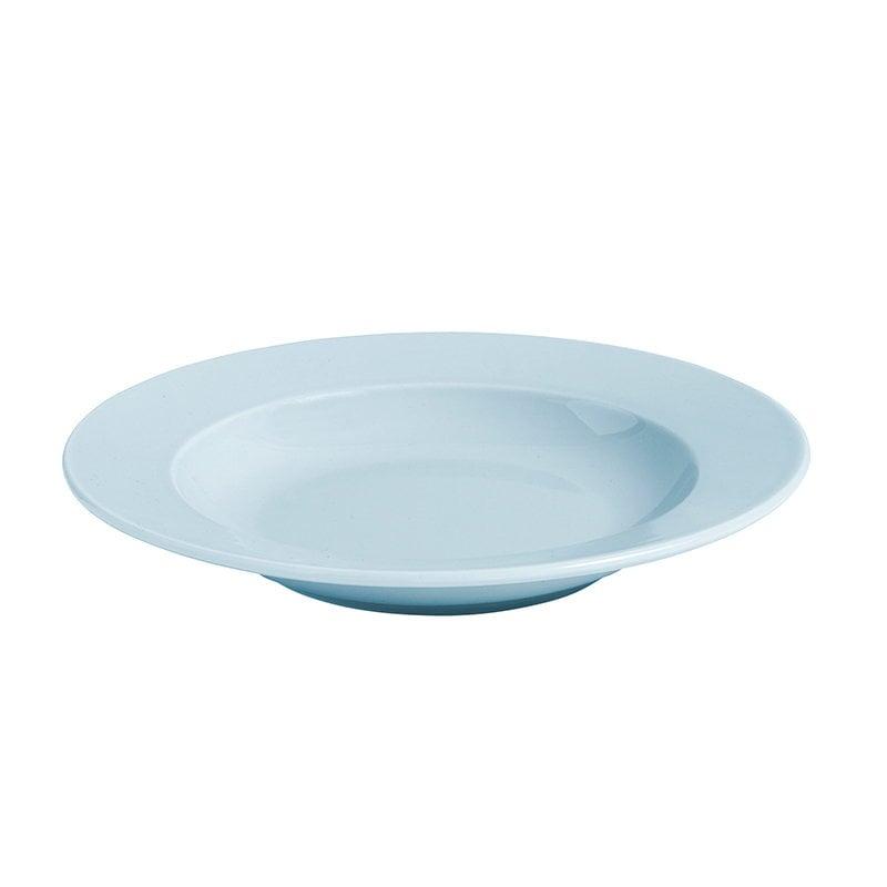Hay Rainbow deep plate, light blue