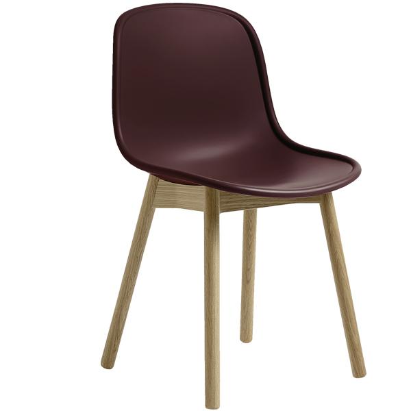 hay sedia neu13 bordeaux frassino laccato opaco finnish design shop. Black Bedroom Furniture Sets. Home Design Ideas