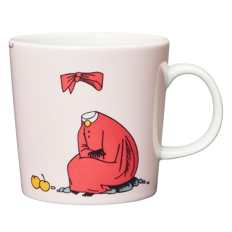 Arabia Moomin mug, Ninny, powder