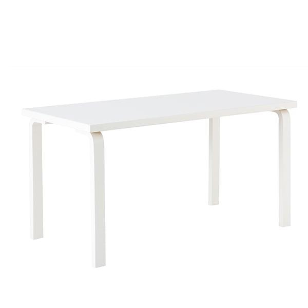 Artek Aalto table 81A, all white