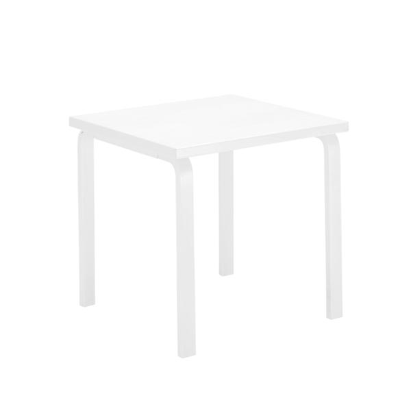 Artek Tavolo Aalto 81C, tutto bianco