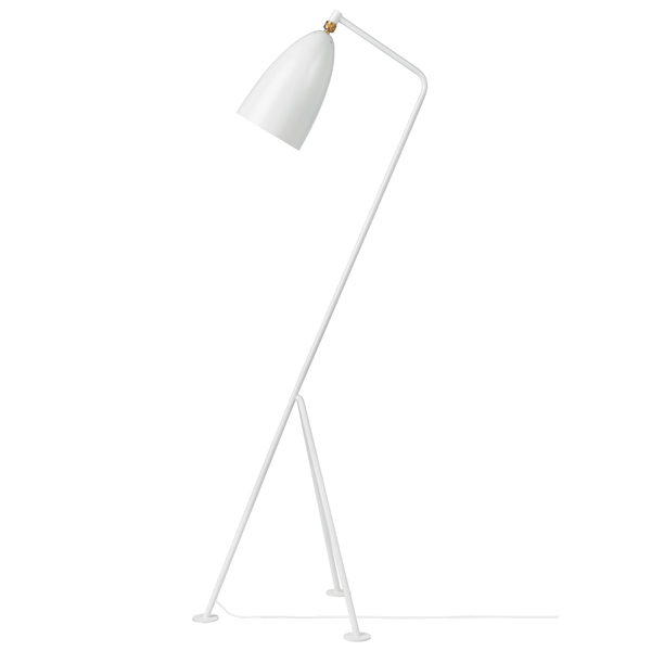 Gubi Gräshoppa floor lamp, white