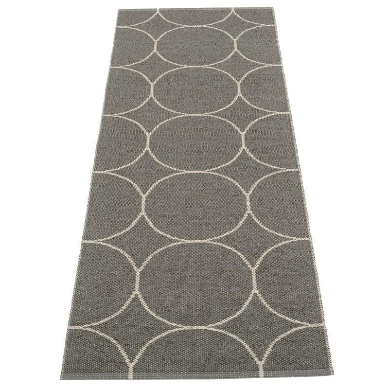 Pappelina Boo rug 70 x 200 cm, charcoal - linen