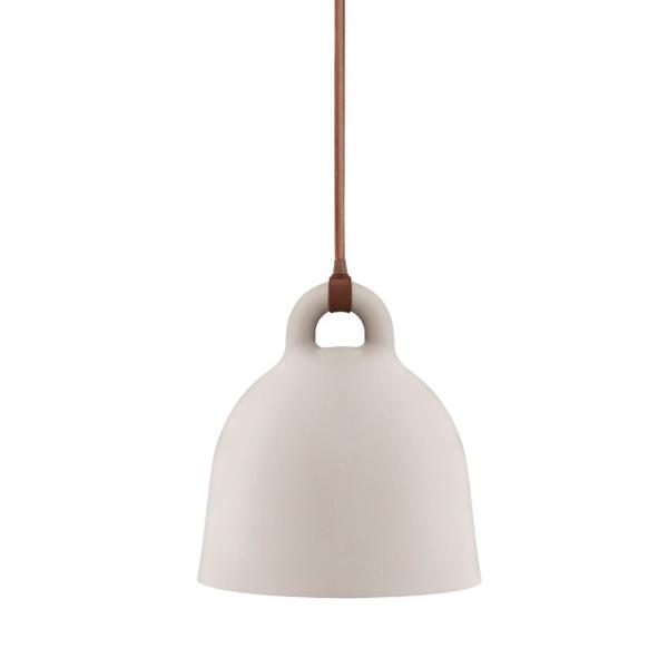 Normann Copenhagen Bell lamp XS, sand | Finnish Design Shop