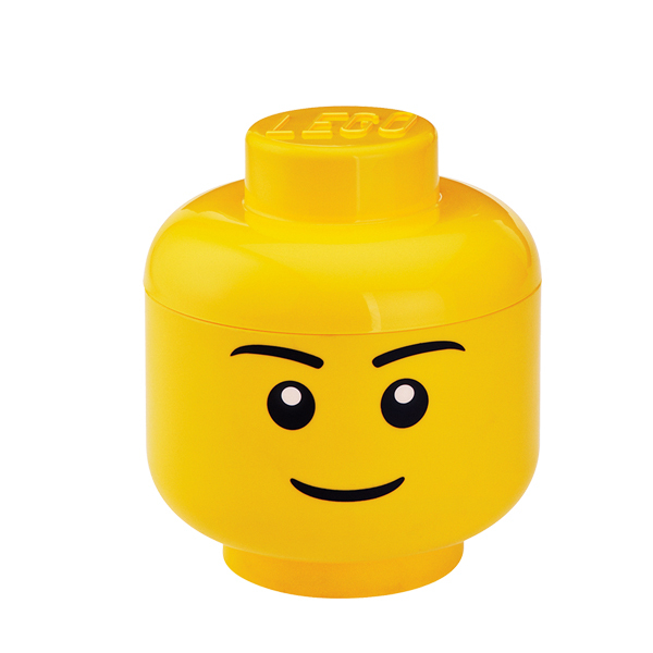 Room Copenhagen Lego Storage Head container, S, Boy