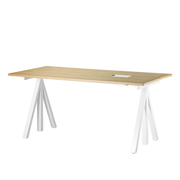 String String Works korkeussäädettävä pöytä 140 cm, tammi