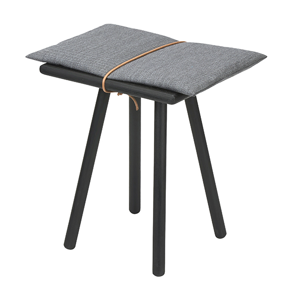 Skagerak Georg stool, black