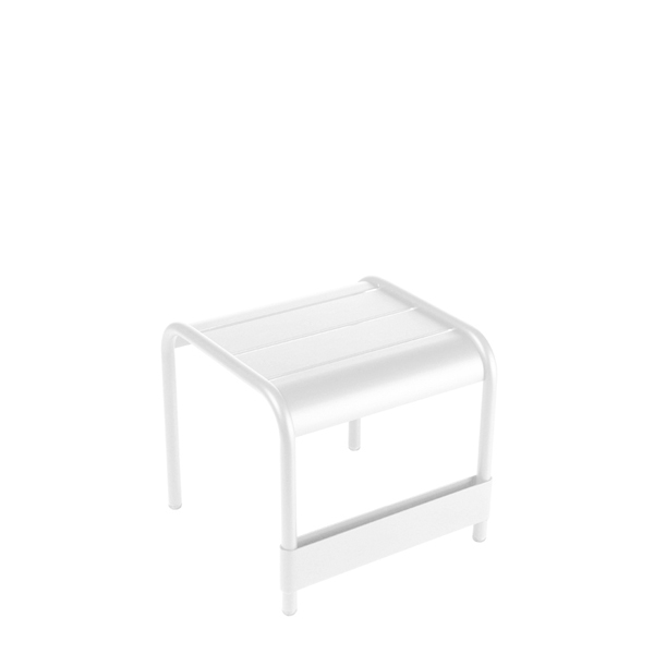 Fermob Luxembourg table / footrest, cotton white