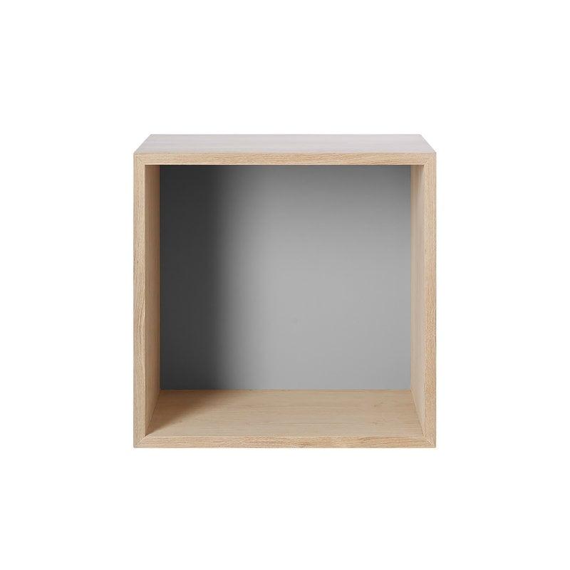 Muuto Mini Stacked 2.0, medio, rovere/grigio chiaro