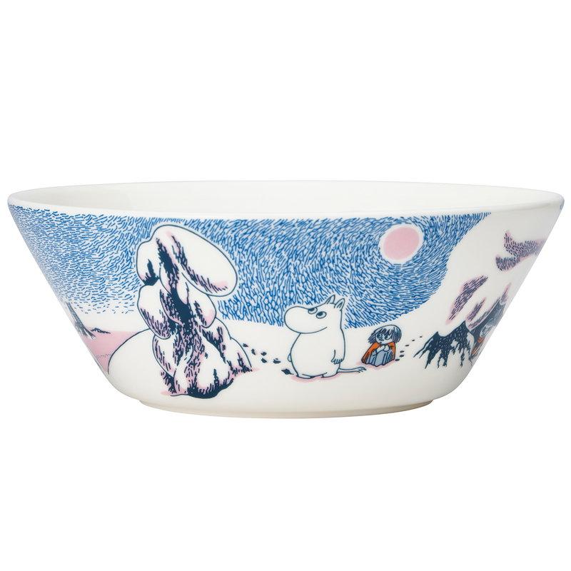 Arabia Moomin bowl, Crown Snow-Load