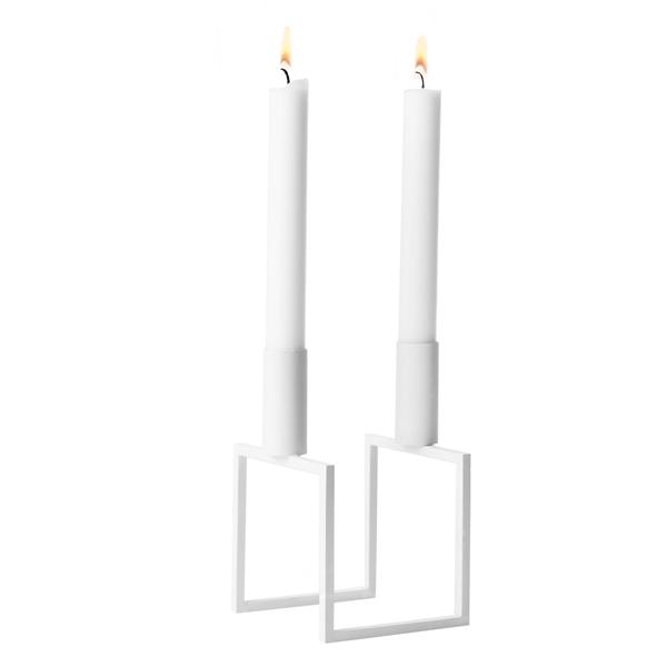 By Lassen Line candleholder, white