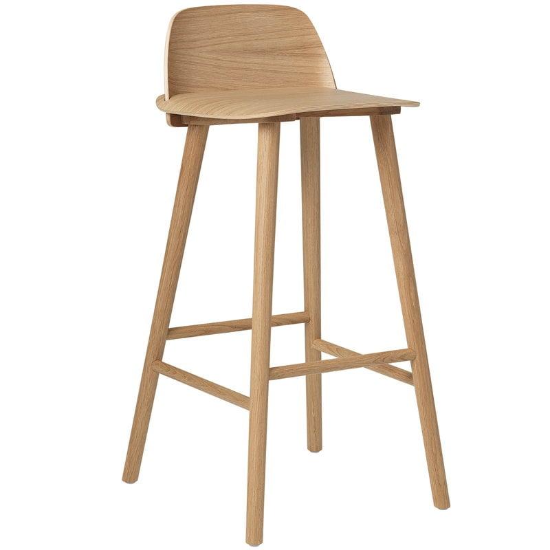 Excellent Nerd Bar Stool High Oak Pabps2019 Chair Design Images Pabps2019Com