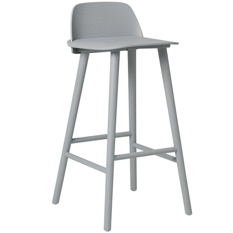 check out 623aa 8a1fd Nerd bar stool, high, grey