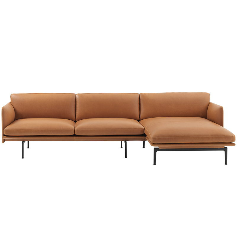 Enjoyable Muuto Outline Chaise Longue Right Finnish Design Shop Interior Design Ideas Inamawefileorg