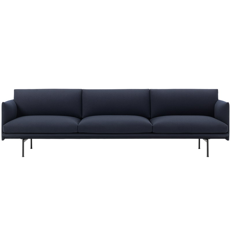 Muuto Outline sofa, 3 1/2 seater