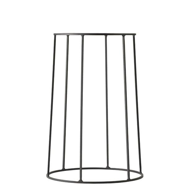 Menu Wire base, medium, black