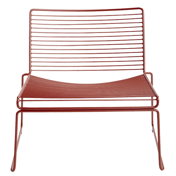 Hay Hee lounge chair, rust
