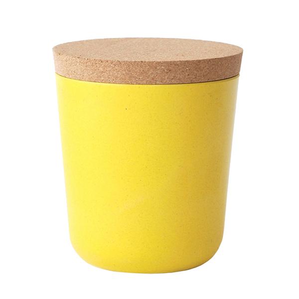 Ekobo Barattolo BIOBU Claro, XL, giallo