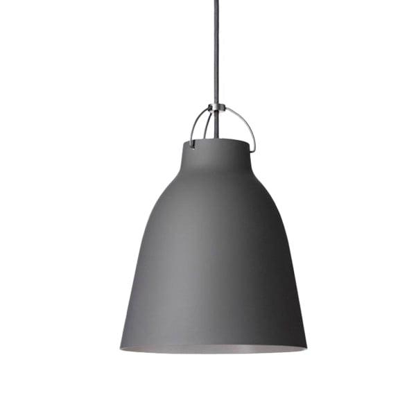 Fritz Hansen Lampada Caravaggio P2, grigio scuro opaco