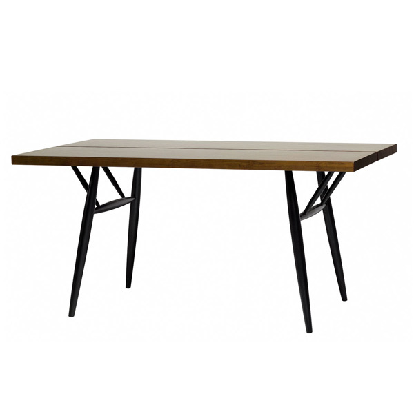 Artek Pirkka table, brown-black