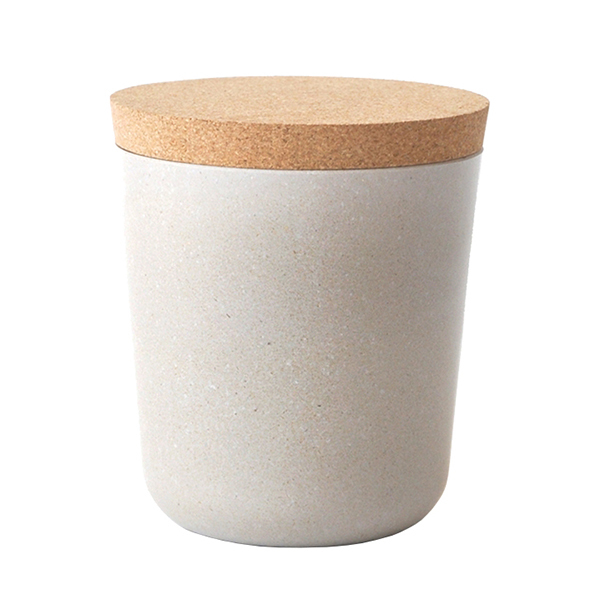 Ekobo BIOBU Gusto storage jar, XL, stone
