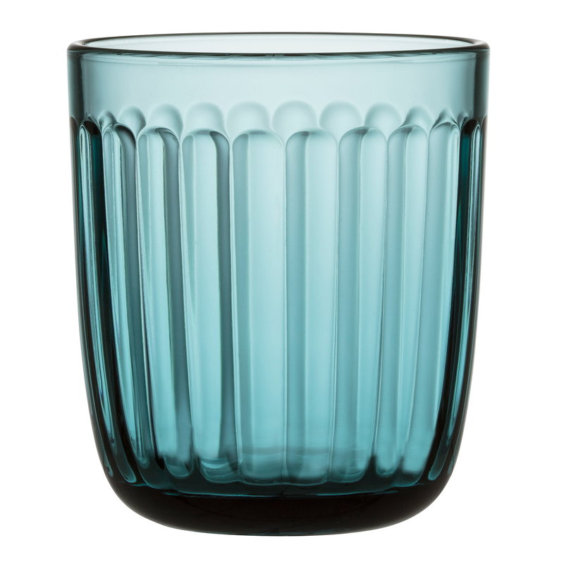 Iittala Raami tumbler 26 cl, 2 pcs, sea blue