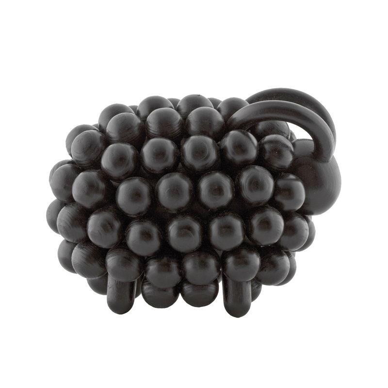 Aarikka Pohjanpässi figurine, coal