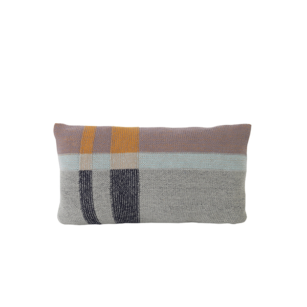 Ferm Living Medley Knit cushion, small, mint