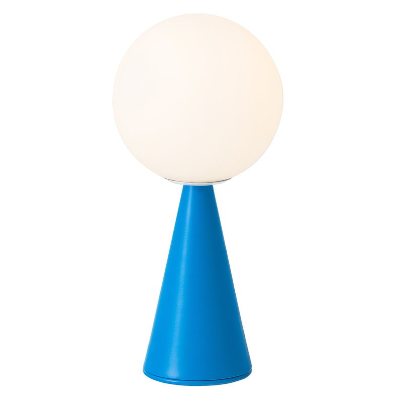 FontanaArte Bilia Mini table lamp, blue