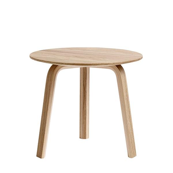 Hay Bella sivupöytä 45 cm, matala, mattalakattu tammi