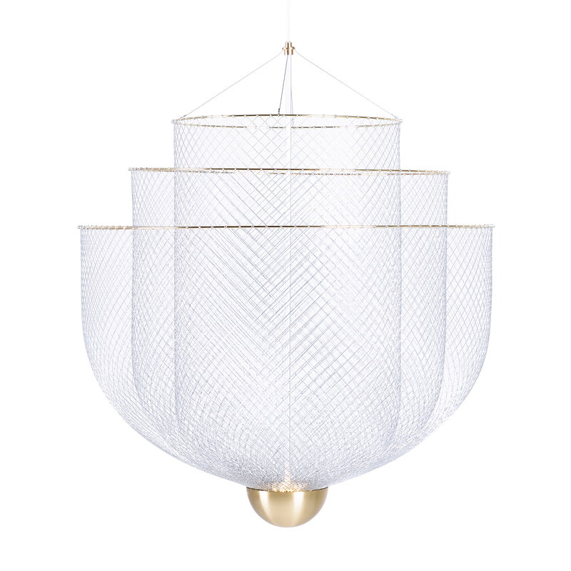 Moooi Meshmatics chandelier, small