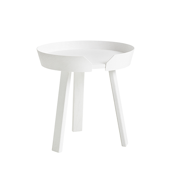 Muuto Around coffee table, small, white