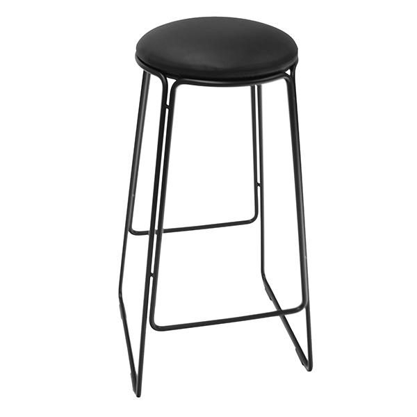 OX Denmarq Prop stool, black