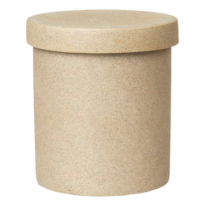 Ferm Living Bon Accessories large container, sand -black