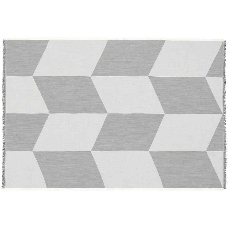 Muuto Sway throw, black - white