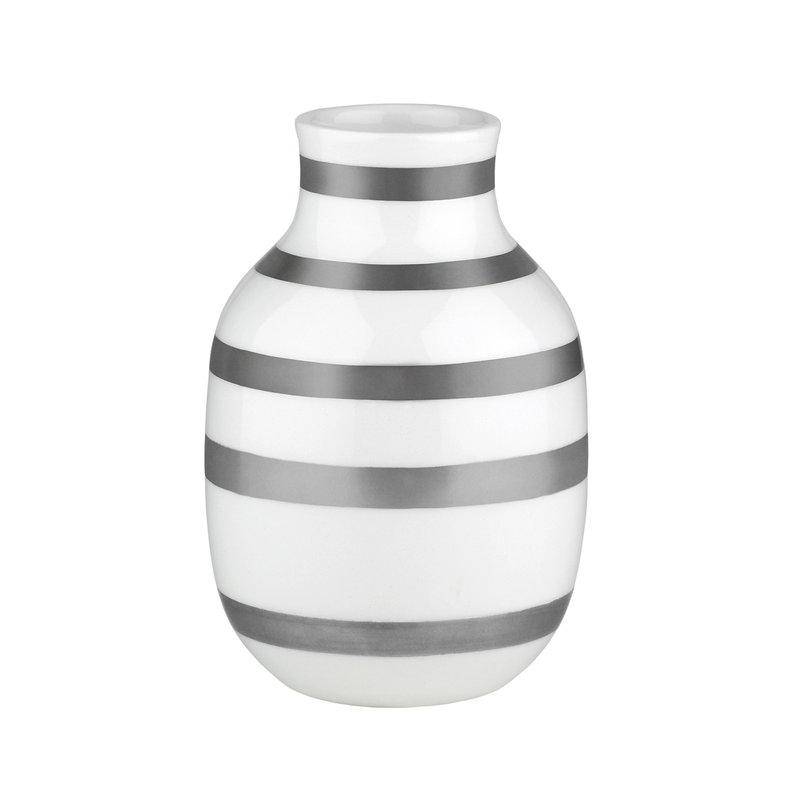 Kähler Omaggio vase, small, silver