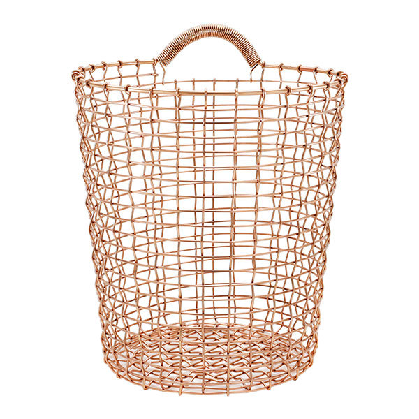 Korbo Wire Bin 18, copper