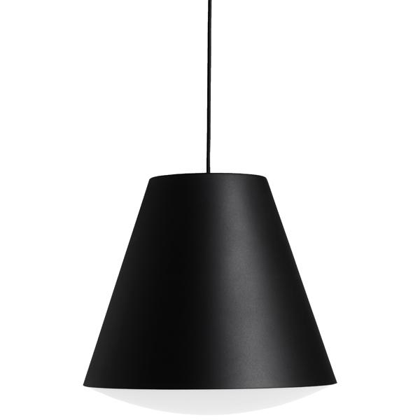 Hay Lampada Sinker, grande, nera