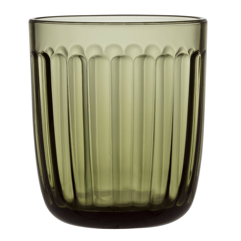 Iittala Bicchiere Raami 26 cl, 2 pz, verde muschio