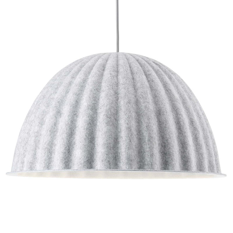 Muuto Under the Bell pendant 55 cm, white melange