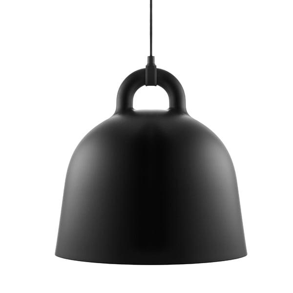 Normann Copenhagen Lampada Bell, M, nera