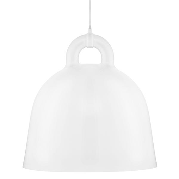 Normann Copenhagen Lampada Bell, L, bianca