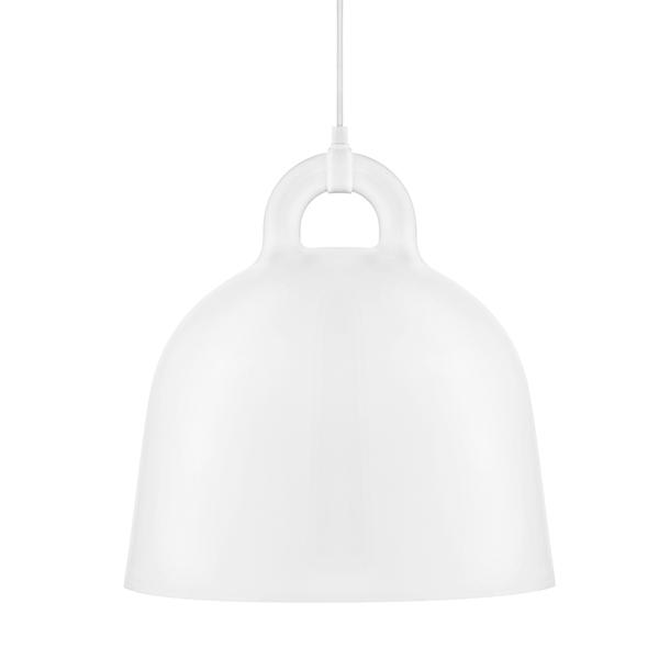 Normann Copenhagen Bell riippuvalaisin, M, valkoinen