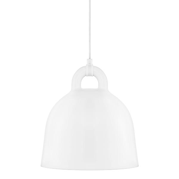 Normann Copenhagen Bell lamp, S, white