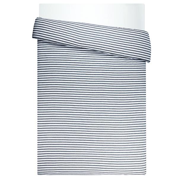 Marimekko Tasaraita duvet cover 150 x 200 cm, grey - white