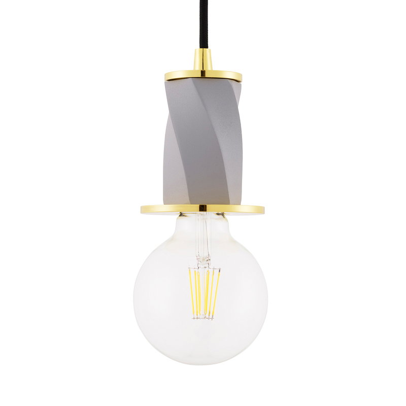 Tivoli Bon pendant, small, metal grey