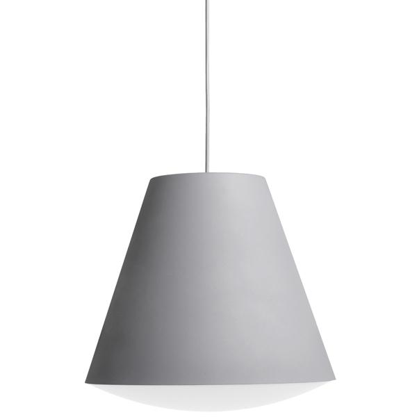 Hay Lampada Sinker, grande, grigia