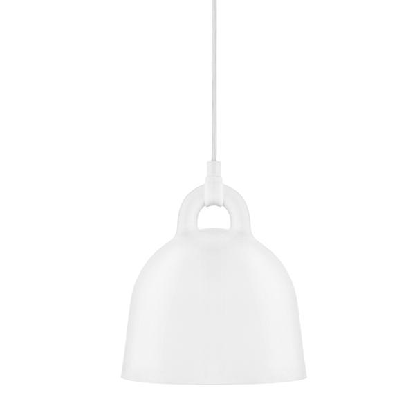 Normann Copenhagen Bell riippuvalaisin, XS, valkoinen