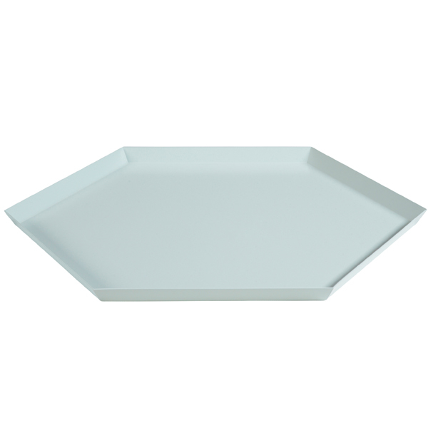 Hay Kaleido tray XL, light grey